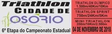 TRIATHLON CIDADE DE OSÓRIO